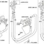 Suzuki GS500E Bekötési rajzok